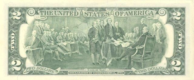 4 verso da nota de 2 dólares 640px - Dólar Hoje - Confira A Cotação.