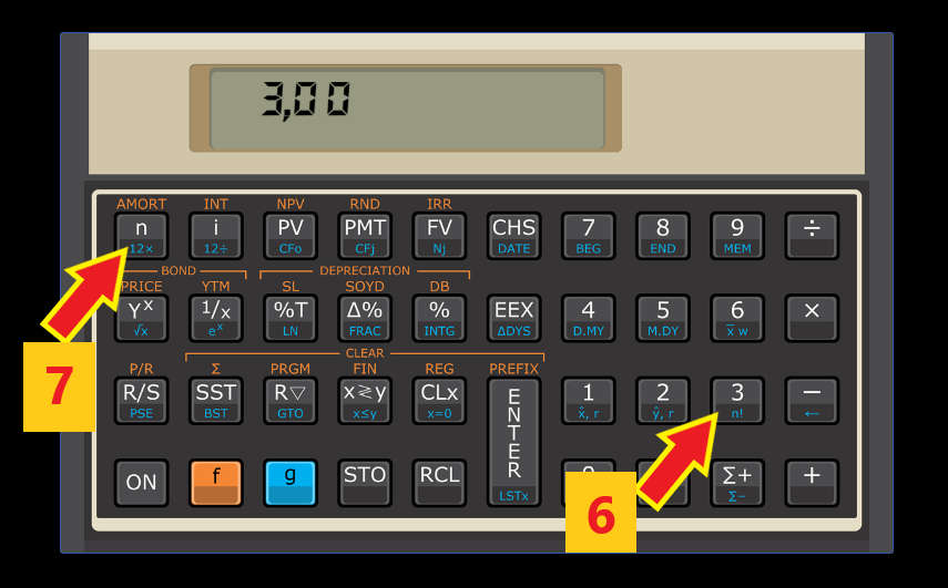 calculando juros compostos na calculadora HP12c passo 3 - Juros Compostos - O Que São? Para Que Servem? Como Calcular?