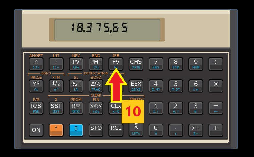 calculando juros compostos na calculadora HP12c passo 5 - Juros Compostos - O Que São? Para Que Servem? Como Calcular?