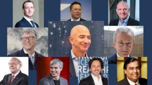 Os 10 homens mais ricos do mundo