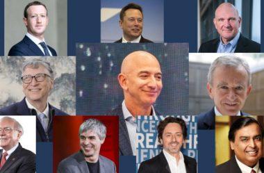 Os 10 Homens Mais Ricos Do Mundo – Saiba Quem São Em 2020.