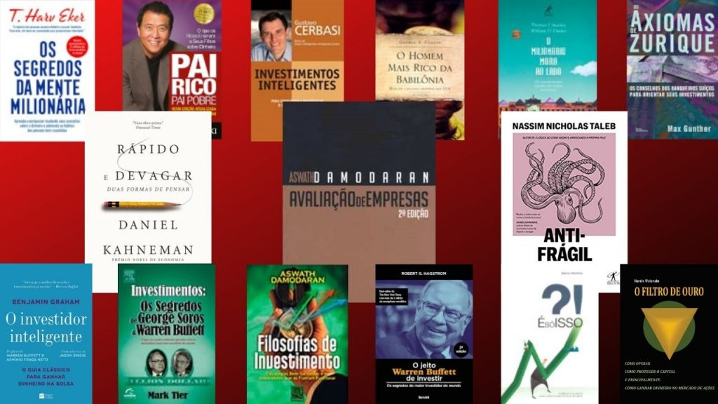 livros sobre investimentos indicados pelo clube patrimonio 1024x576 - Livros Sobre Investimentos Recomendados Pelo Clube Patrimônio.